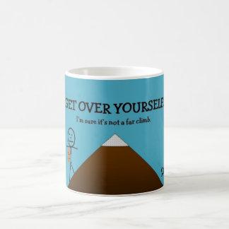 Erhalten Sie über selbst Kaffeetasse