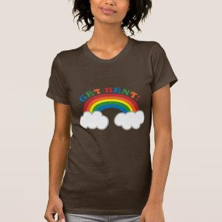 ERHALTEN SIE VERBOGEN! mit niedlichem Regenbogen T-Shirt