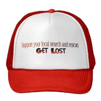 Erhalten Sie verlorenen Hut Retromütze