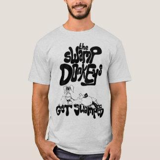 Erhalten Sie - Vorlage überflutet (schwarzes Logo) T-Shirt