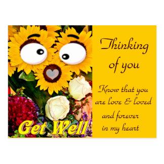 Erhalten Sie Well_ Postkarte