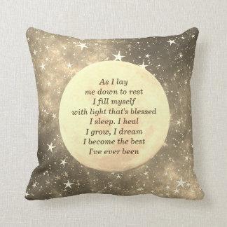 Erhalten Sie wohlen Schlafsegenentwurf Kissen