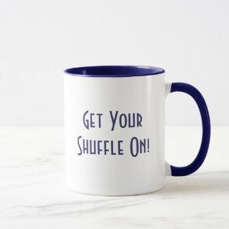 Erhalten Sie YourShuffle an! Tasse