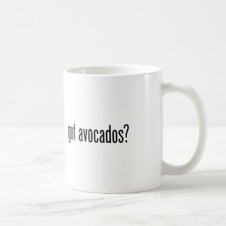 erhaltene Avocados Kaffeetasse