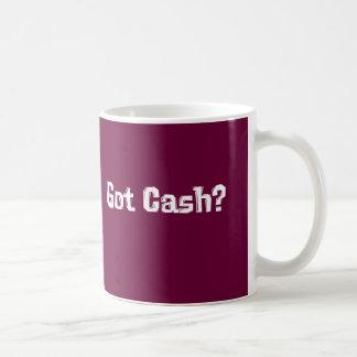 Erhaltene Bargeld-Geschenke Kaffeetasse
