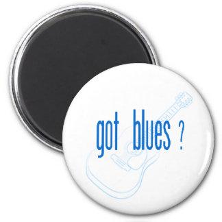 Erhaltene Blues? Musik zitiert Kühlschrankmagneten Runder Magnet 5,1 Cm