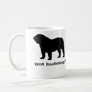 Erhaltene Bulldogge? Kaffeetasse
