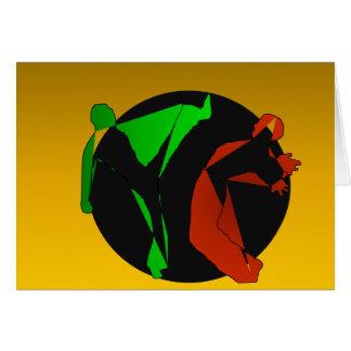 erhaltene capoeira Kampfkünste Karte