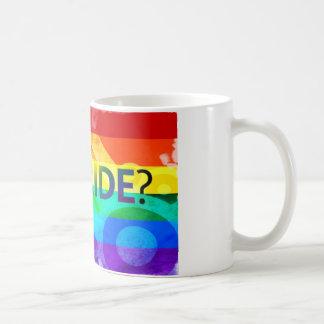Erhaltene Flagge des Stolz-LGBT Tasse