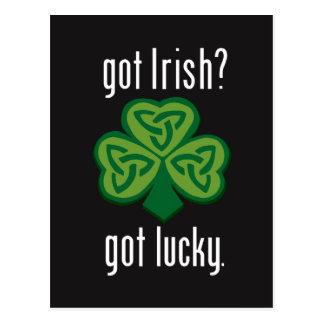 Erhaltene Iren - glücklich erhalten Postkarte