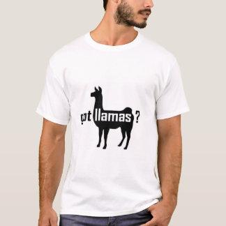 Erhaltene Lamas? Ursprünglich T-Shirt
