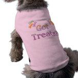 Erhaltene Leckerei-Haustier-Kleidung Hunde Shirt