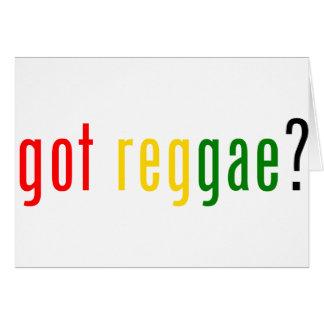 erhaltene Reggae? Karte