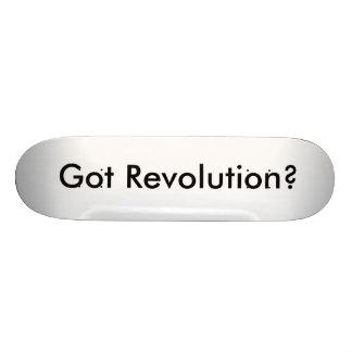 Erhaltene Revolution? Individuelle Skatedecks