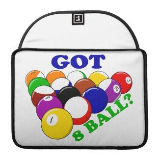 Erhaltener 8 Ball-Pool-Spieler Sleeve Für MacBooks