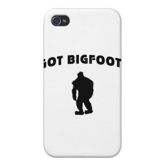 Erhaltener Bigfoot iPhone 4/4S Case