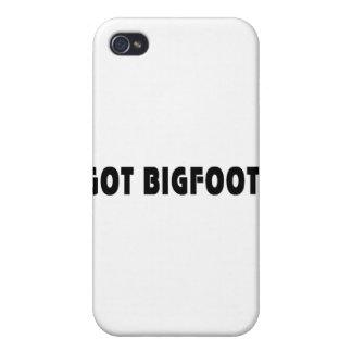 Erhaltener Bigfoot iPhone 4 Hülle