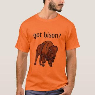 erhaltener Bison? T-Shirt
