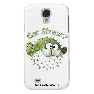 Erhaltener Druck? Puffer-Fische Galaxy S4 Hülle