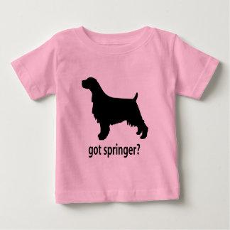 Erhaltener englischer Springer Baby T-shirt
