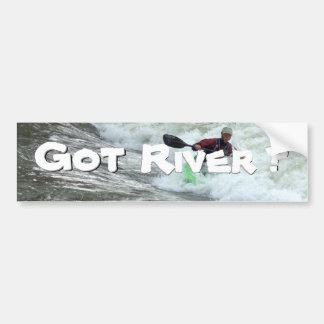 Erhaltener Fluss? Autoaufkleber