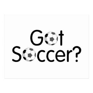 Erhaltener Fußball? Postkarte