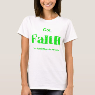 Erhaltener Glaube - Grün T-Shirt