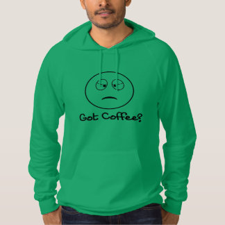 Erhaltener Kaffee - lustiger Hoodie für