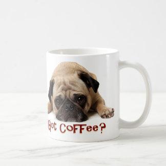 Erhaltener Kaffee? Mops-Tasse Tasse