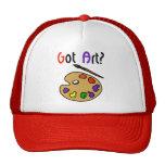 Erhaltener Kunst-Hut Caps