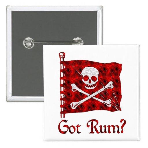 Erhaltener Rum? Anstecknadelbuttons