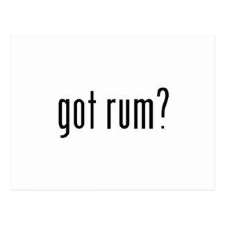 erhaltener Rum? Postkarte