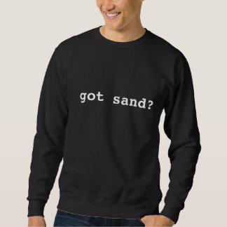 erhaltener Sand? Sweatshirt