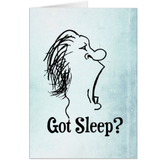 Erhaltener Schlaf? Karte