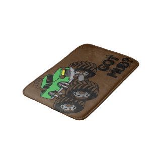 Erhaltener Schlamm? Grüne Monster-LKW-Bad-Matte Badematte