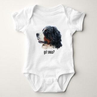 erhaltener Schnee? Bernese Gebirgshund Baby Strampler
