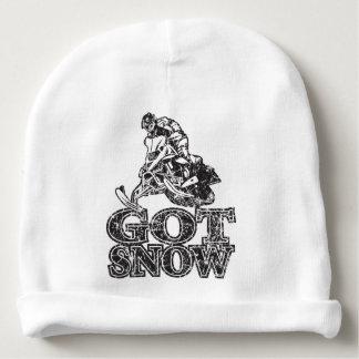 Erhaltener Schnee Snowmobiler Babymütze