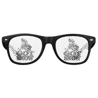 Erhaltener Schnee Snowmobiler Partybrille