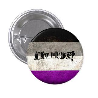 Erhaltener Stolz? Beunruhigter asexualer Runder Button 3,2 Cm