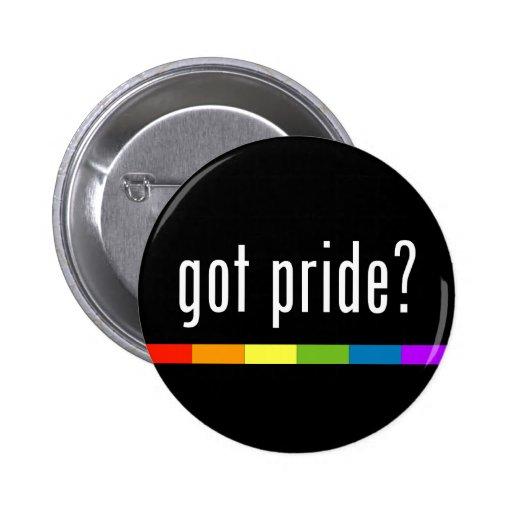 Erhaltener Stolz: Gay Pride Button