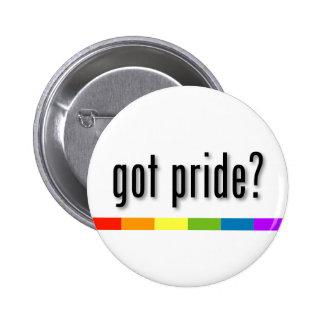 Erhaltener Stolz: Gay Pride Runder Button 5,7 Cm