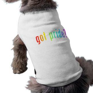 erhaltener Stolz? Ärmelfreies Hunde-Shirt