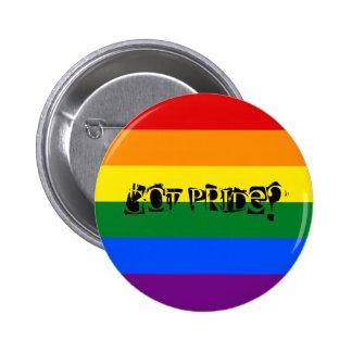Erhaltener Stolz? LGBTQ Stolz-Knopf Runder Button 5,1 Cm
