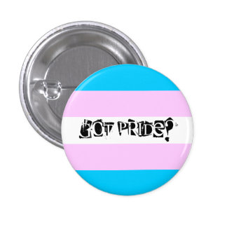 Erhaltener Stolz? Transgender-Stolz-Knopf Runder Button 2,5 Cm