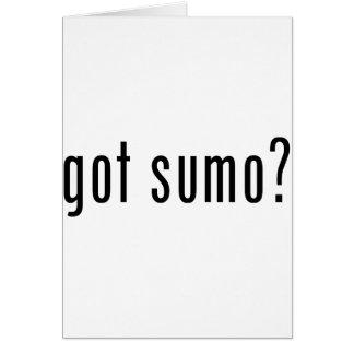 erhaltener Sumo? Karte