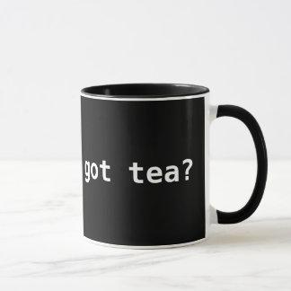 erhaltener Tee? Lustiges politisches Tasse