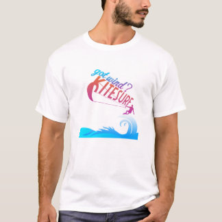 Erhaltener Wind? Kitesurf T-Shirt