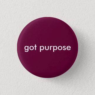 erhaltener Zweck Runder Button 3,2 Cm