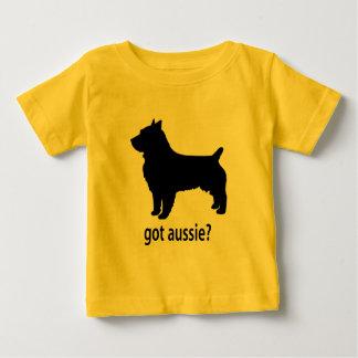 Erhaltenes australisches Terrier Baby T-shirt