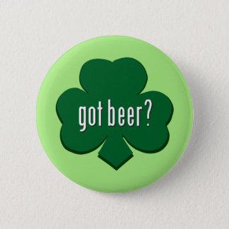 Erhaltenes Bier? - St Patrick Tag Runder Button 5,1 Cm